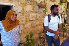 Hassan-Muamer-and-sister-at-guesthouse-Battir