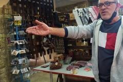 Sultan-in-the-artisan-shop-in-Battir
