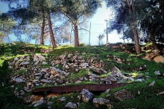 The-iron-of-the-old-train-railway-track-in-Battir-that-Hassan-wants-to-exhibit