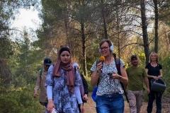 Podcast-recording-hike-Palestine