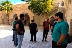 Courtyard-maqam-Nabi-Musa