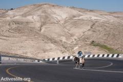 Wadi Nar bypass road, West Bank, 13.2.2014