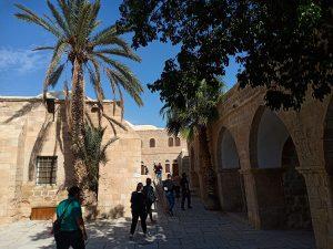 Guesthouse at Nabi Musam maqam prophet moses desert Jericho