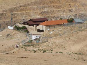 The Good Samaritan inn on the way from Jerusalem to Jericho