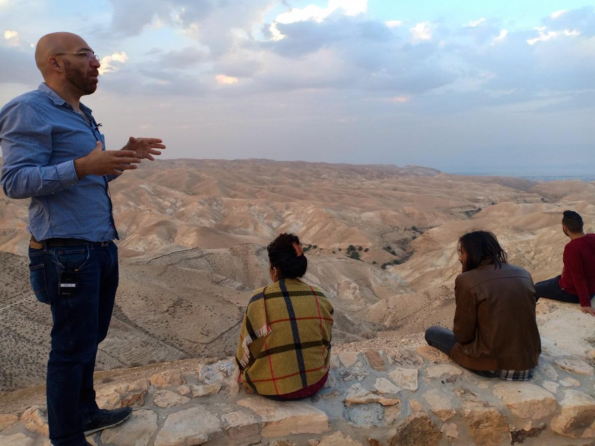 desert tour guide trip israel palestine westbank