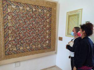 Mosaics Good Samaritan inn museum