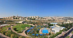 The Ma'ale Adumim settlement is an illegal Israeli settlement