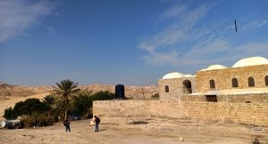 Maqam shrine Nabi Musa on road Jericho