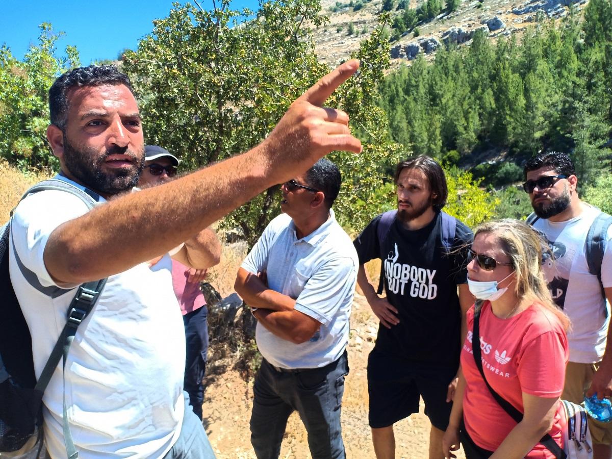 Tour guide Hassan cover podcast Battir